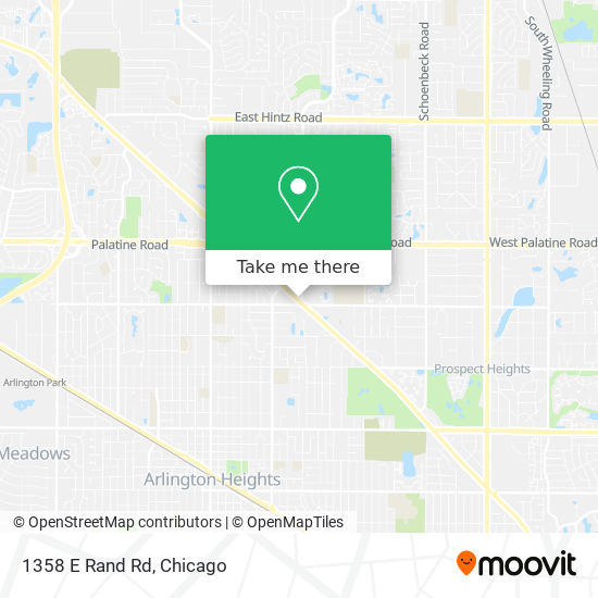1358 E Rand Rd map