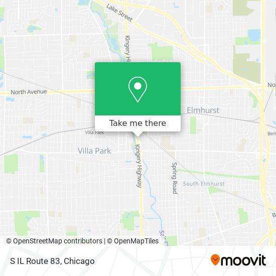 S IL Route 83 map