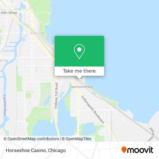 Horseshoe Casino map
