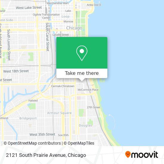 2121 South Prairie Avenue map