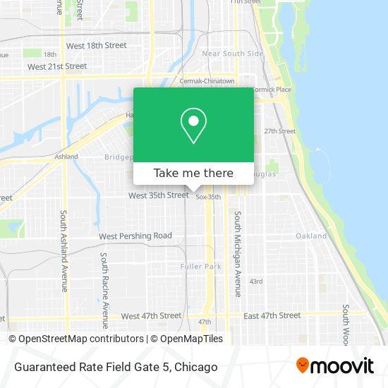 Guaranteed Rate Field Gate 5 map