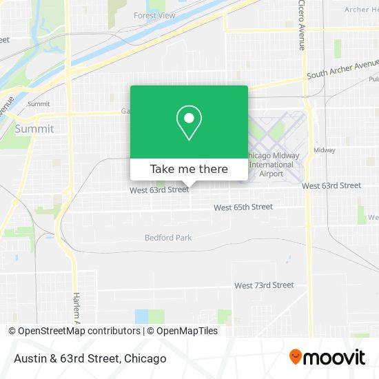Austin & 63rd Street map