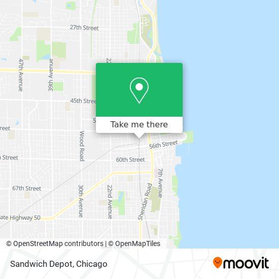 Sandwich Depot plan