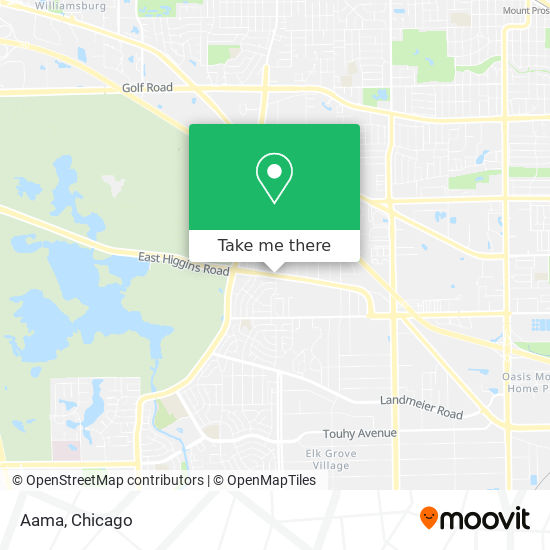 Aama地图