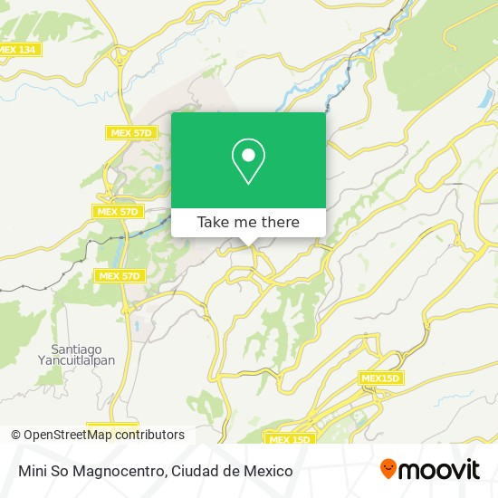 Mini So Magnocentro map