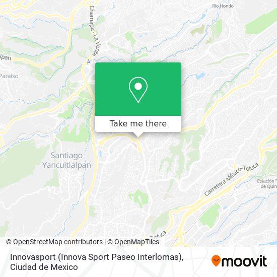 Innovasport (Innova Sport Paseo Interlomas) plan