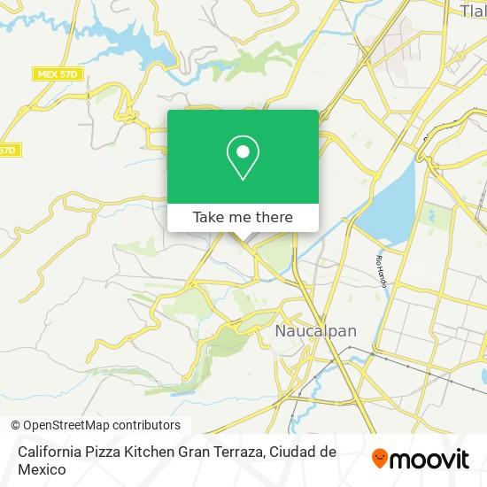 How To Get To California Pizza Kitchen Gran Terraza In Atizapan De Zaragoza By Bus Moovit
