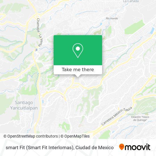 smart Fit (Smart Fit Interlomas) map