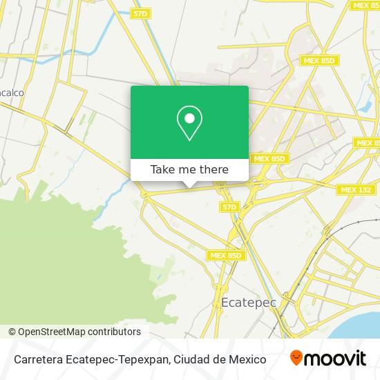 Carretera Ecatepec-Tepexpan plan
