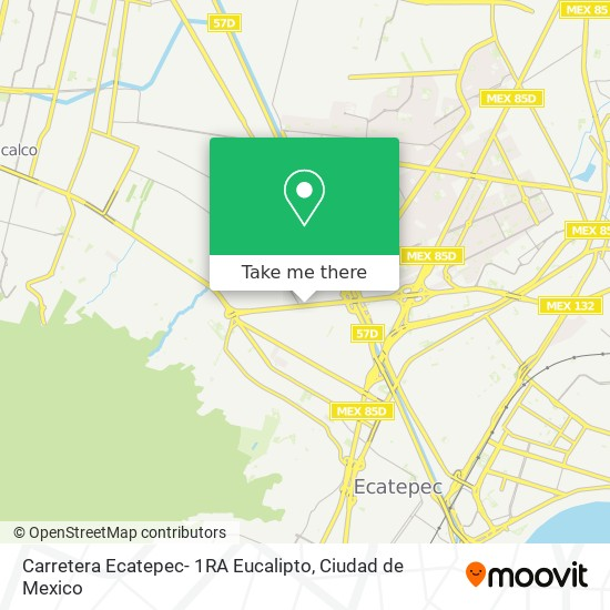 Carretera Ecatepec- 1RA Eucalipto plan