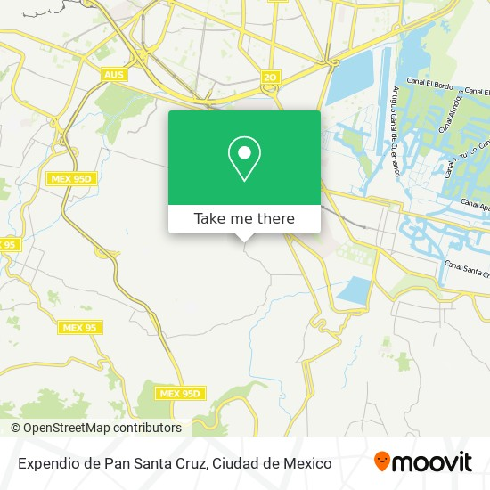 Expendio de Pan Santa Cruz plan