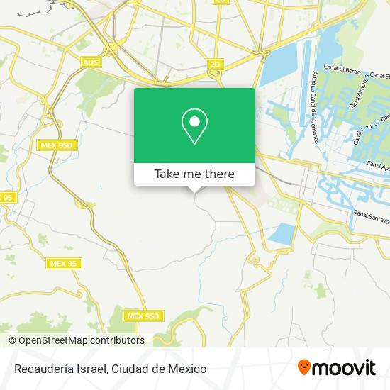 Recaudería Israel plan