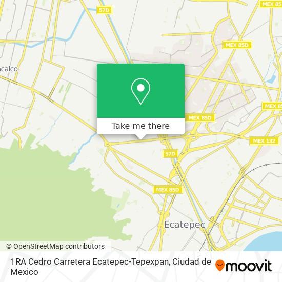 1RA Cedro Carretera Ecatepec-Tepexpan plan