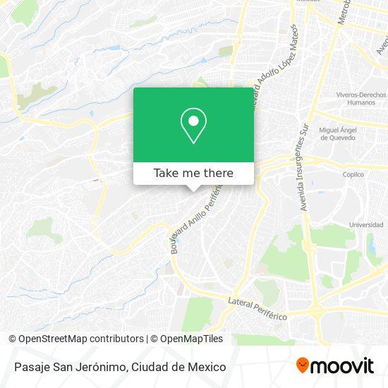Pasaje San Jerónimo plan