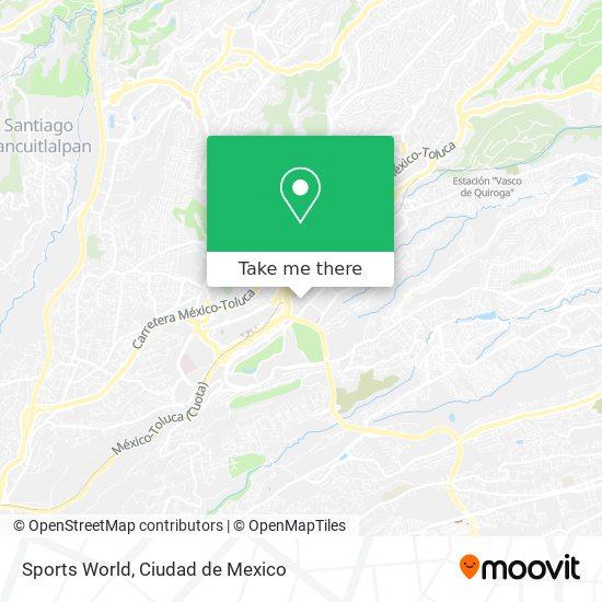 Sports World map