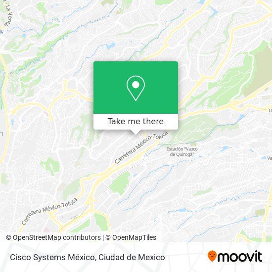 Cisco Systems México map