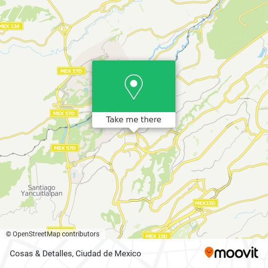 Cosas & Detalles map