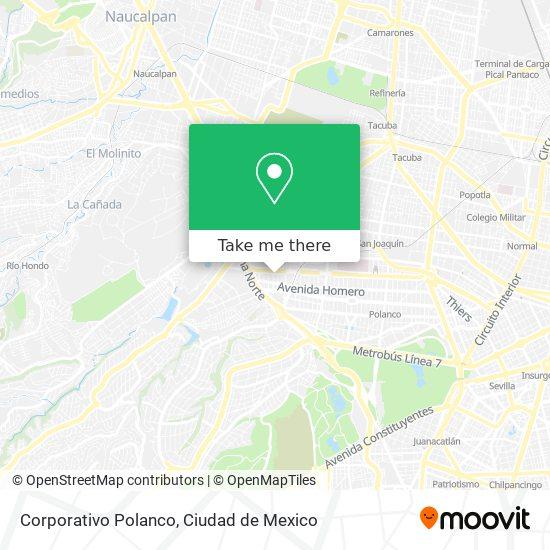 Corporativo Polanco map