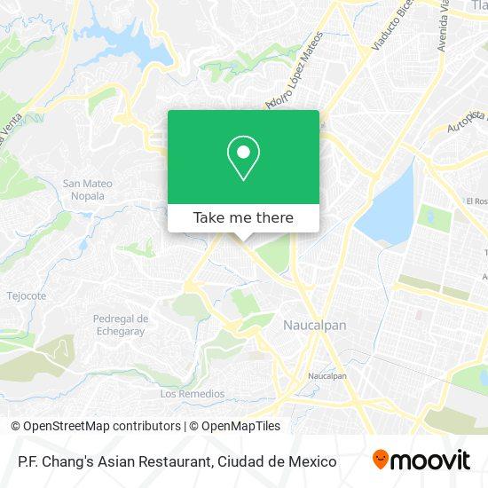 P.F. Chang's Asian Restaurant map