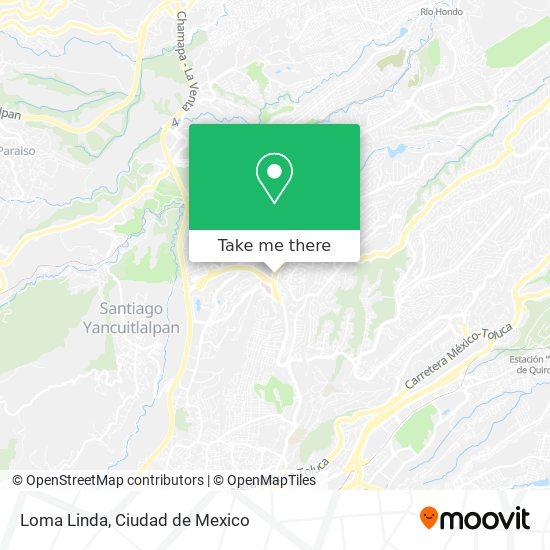Loma Linda map