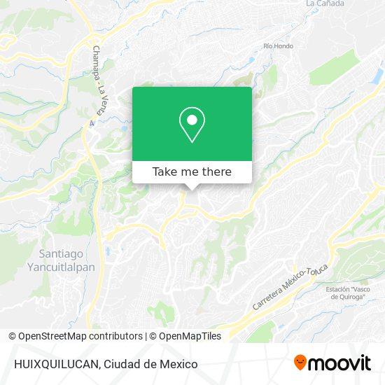HUIXQUILUCAN map