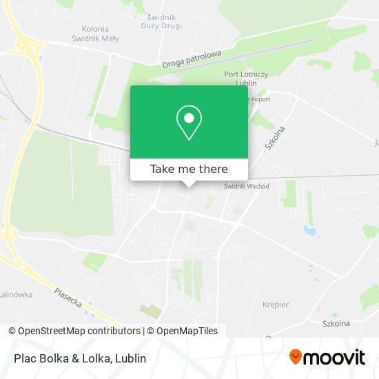 Карта Plac Bolka & Lolka