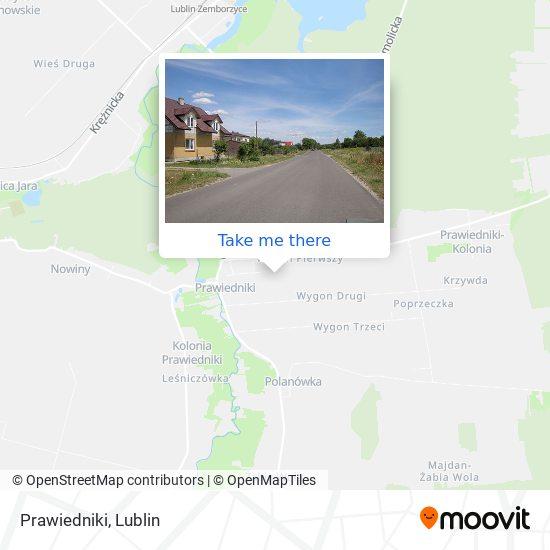 Карта Prawiedniki