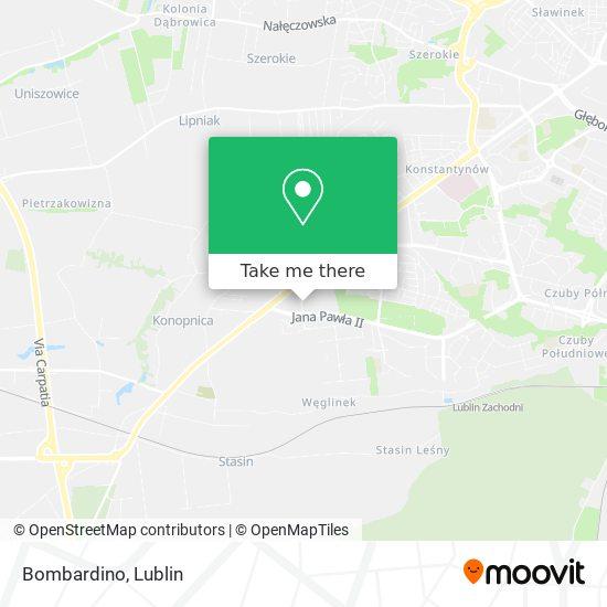 Карта Bombardino