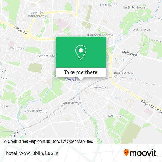 hotel lwow lublin map