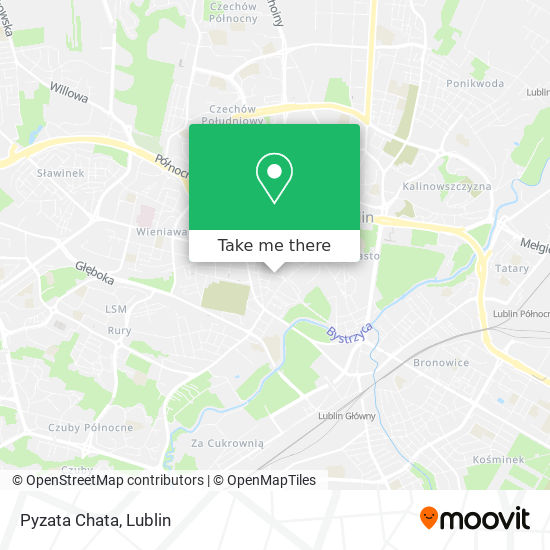 Pyzata Chata map