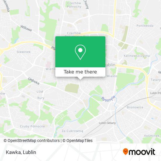 Kawka map