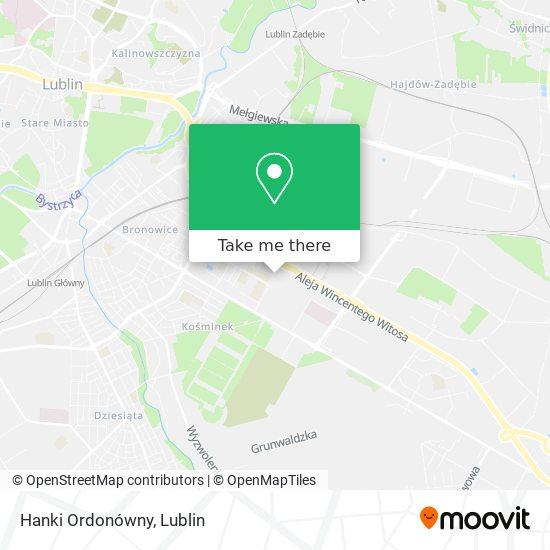 Hanki Ordonówny map