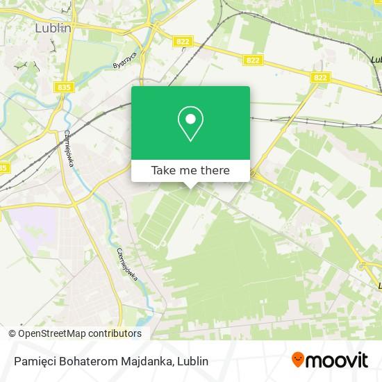 Pomnik Walki I Męczeństwa map