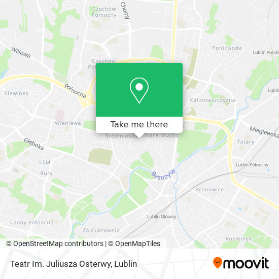 Карта Teatr Im. Juliusza Osterwy