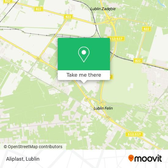 Карта Aliplast