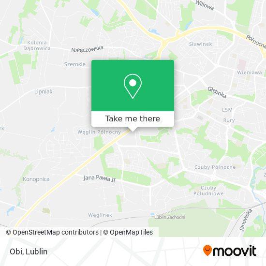Карта Obi