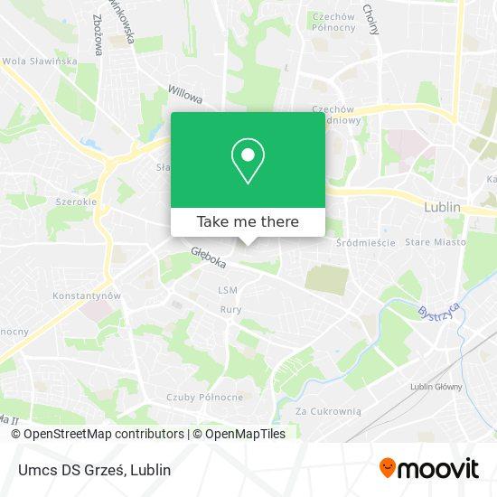 Карта Umcs DS Grześ