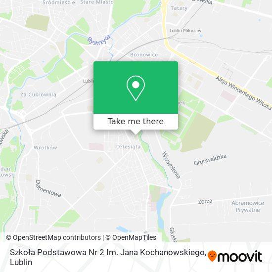 Карта Szkoła Podstawowa Nr 2 Im. Jana Kochanowskiego
