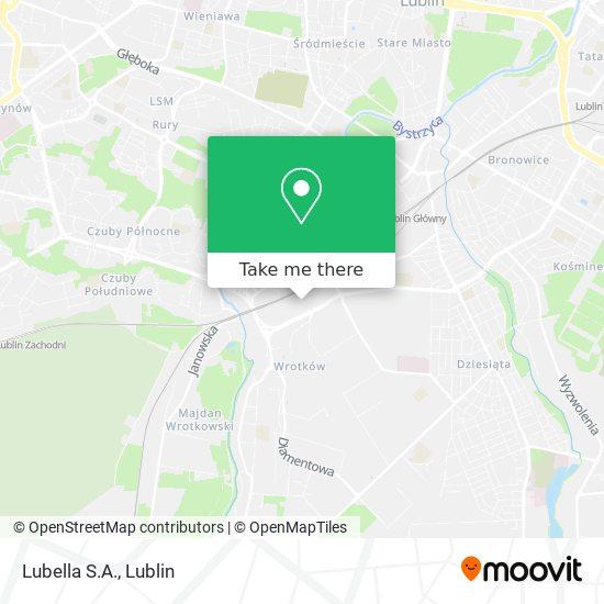 Карта Lubella S.A.