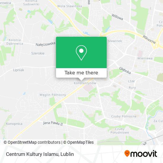 Centrum Kultury Islamu map