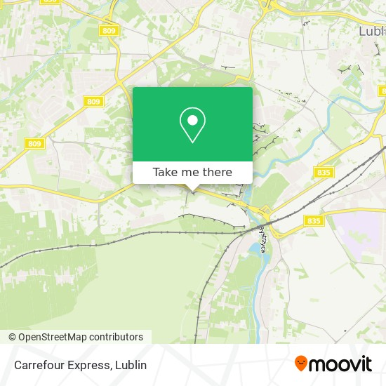 Carrefour Express map