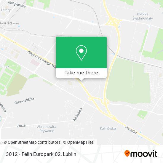 Карта 3012 - Felin Europark 02