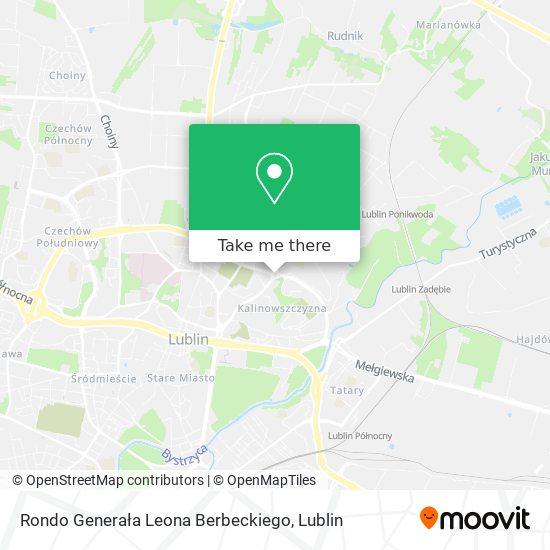 Rondo Gen. Leona Berbeckiego map