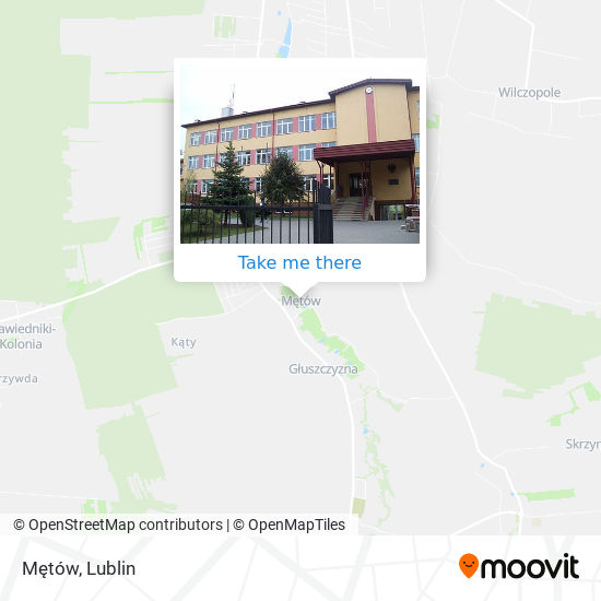 Карта Mętów
