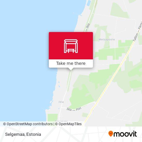Selgemaa map