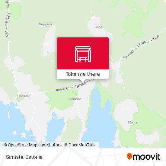 Simiste map