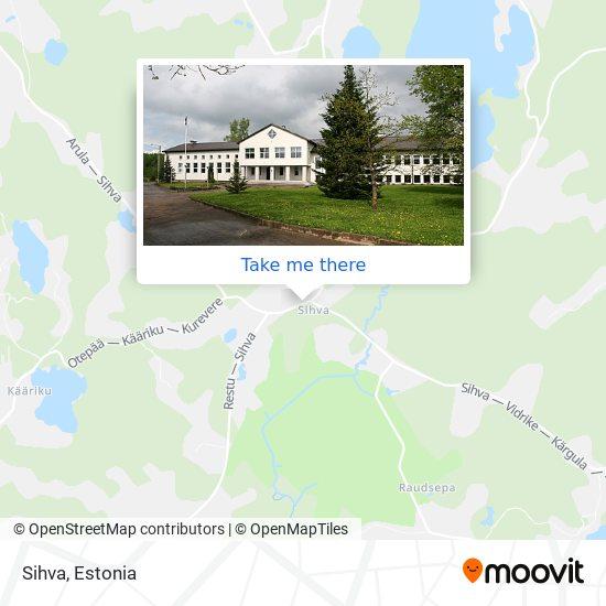 Sihva map