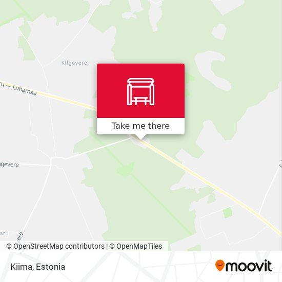 Kiima map