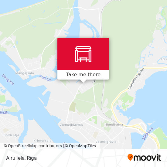 Airu Iela map