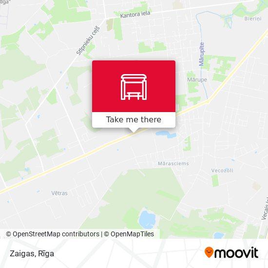 Zaigas map